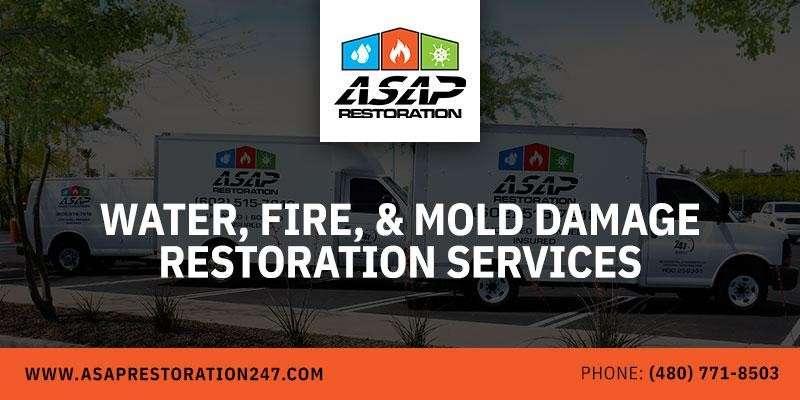 Water Fire & Mold Damage Restoration Service AZ
