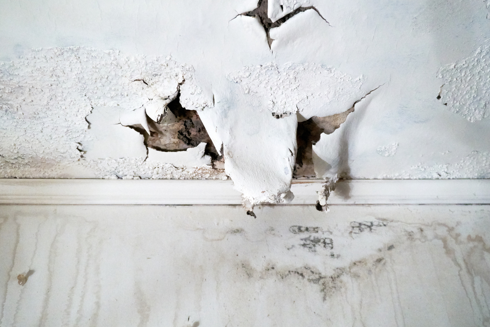 Drywall Water Damage – How to identify it